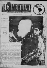thumbnail of El Combatiente n 038