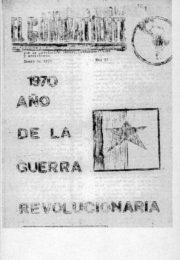 thumbnail of El Combatiente n 051 1971 enero