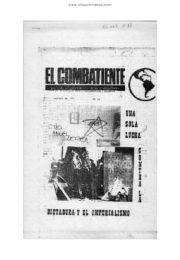 thumbnail of El Combatiente n 052