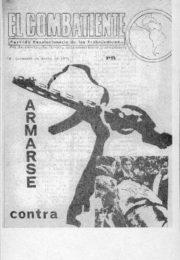 thumbnail of El Combatiente n 053