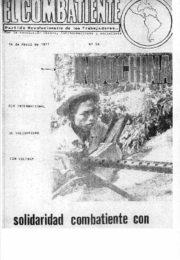 thumbnail of El Combatiente n 054