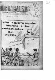 thumbnail of El Combatiente n 061