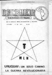 thumbnail of El Combatiente n 065 1971 diciembre