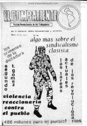 thumbnail of El Combatiente n 066 1972 enero 30