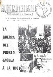thumbnail of El Combatiente n 068