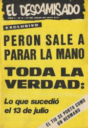 thumbnail of El Descamisado n 09