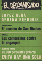 thumbnail of El Descamisado n 11