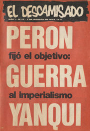 thumbnail of El Descamisado n 12