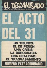 thumbnail of El Descamisado n 16