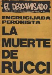 thumbnail of El Descamisado n 20