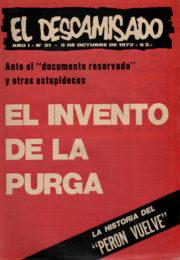 thumbnail of El Descamisado n 21