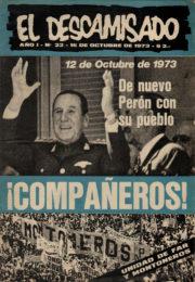 thumbnail of El Descamisado n 22