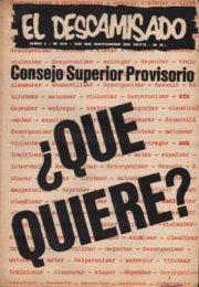 thumbnail of El Descamisado n 24