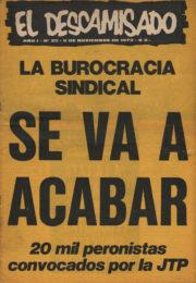 thumbnail of El Descamisado n 25
