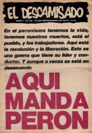 thumbnail of El Descamisado n 26