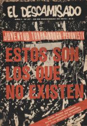 thumbnail of El Descamisado n 27