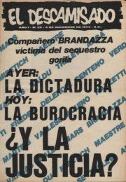 thumbnail of El Descamisado n 29