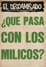 thumbnail of El Descamisado n 30