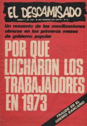 thumbnail of El Descamisado n 34