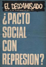 thumbnail of El Descamisado n 35