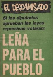 thumbnail of El Descamisado n 36