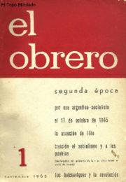 thumbnail of El Obrero 1
