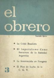 thumbnail of El Obrero N 3
