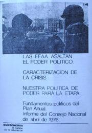 thumbnail of El camino de la Liberacion. Documentos de octubre 1975 a marzo 1978. II parte