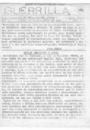 thumbnail of Guerrilla. JP de la provincia de Buenos Aires nov. 1962