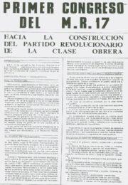 thumbnail of I Congreso del MR 17