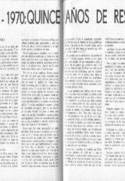 thumbnail of Juan Carlos Brid. Quince anos de Resistencia