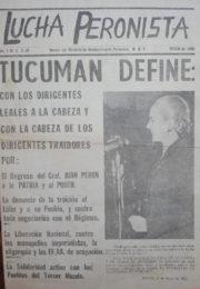 thumbnail of Lucha Peronista N 2