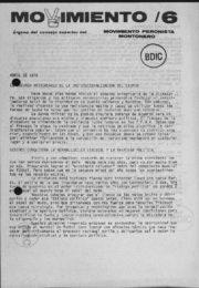thumbnail of Movimiento 1978 N 6