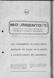 thumbnail of Movimiento 1979 N 10