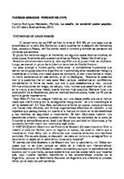 thumbnail of Rodriguez Heidecker, Patricia. Testimonio de D. Ramos y N.Verdinelli