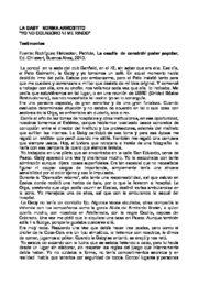 thumbnail of Rodriguez Heidecker, Patricia. Testimonios sobre N. Arrostito
