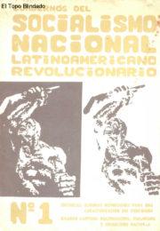 thumbnail of Socialismo Nacional Nro1