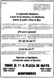 thumbnail of Solicitada Convocatoria 1 de mayo