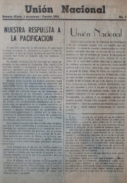 thumbnail of Union Nacional. 1955