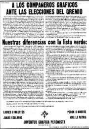 thumbnail of 1974 abril 26. A los companeros Graficos