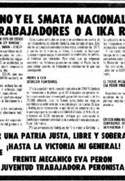 thumbnail of 1974 agosto 15. El gobierno y el SMATA Nacional defienden a los trabajadores o a IKA Renault