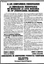 thumbnail of 1974 junio 3. A los companeros ferroviarios