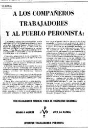 thumbnail of 1974 noviembre 29. A los trabajadores y al pueblo peronista