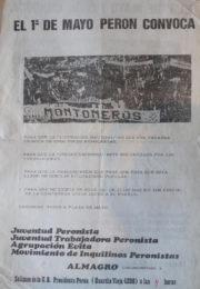 thumbnail of 1974. El 1 de mayo Peron convoca