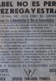 thumbnail of 1974. Isabel no es Peron