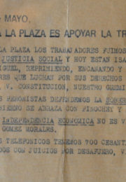 thumbnail of 1975. Ir a la Plaza es apoyar la traicion