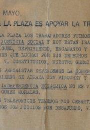 thumbnail of 1975. Ir a la Plaza es apoyar la traicion