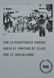 thumbnail of 1976. Con la resistencia obrera hacia el partido de clase por el socialismo