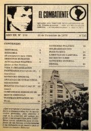 thumbnail of El Combatiente 270