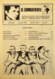 thumbnail of El Combatiente 276